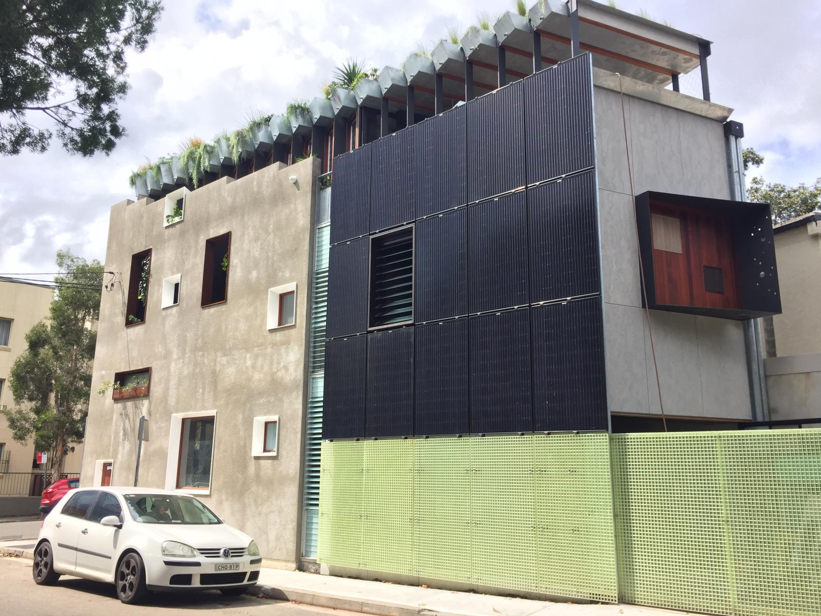 Congratulations to Australia Wide Solar for winning the Solar Design and Installation Award for this BIPV System with WINAICO Full Black Panels
