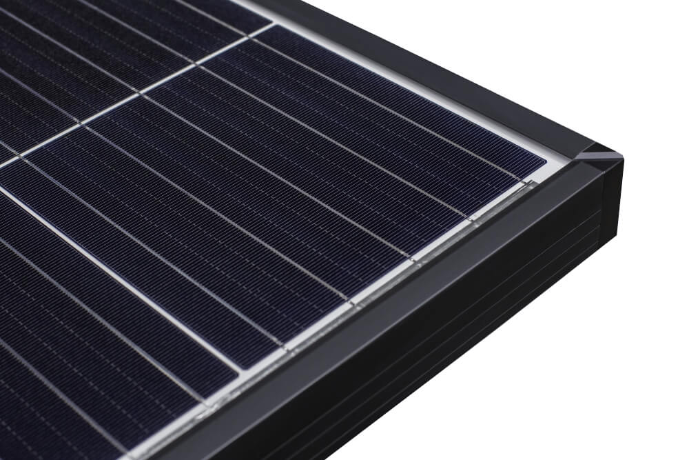 what solar panel is made of