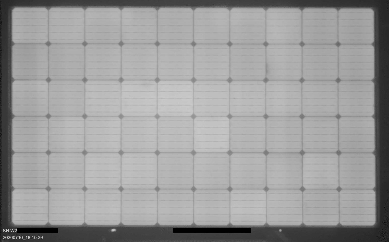 Electroluminescence Image of WSP-340MX