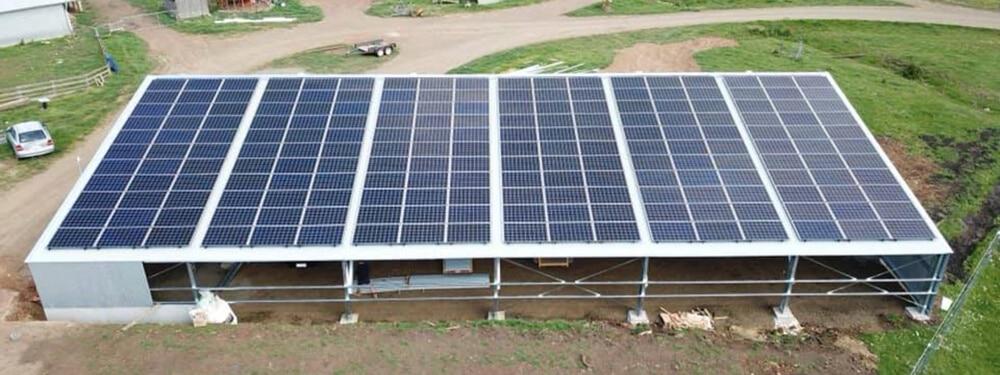hadspen commercial rooftop solar