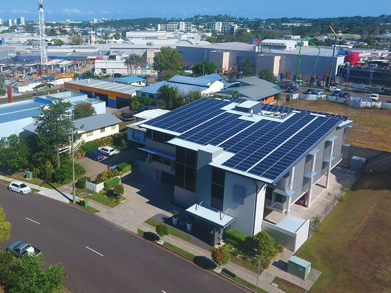 enviro projects 90 kW commercial rooftop solar
