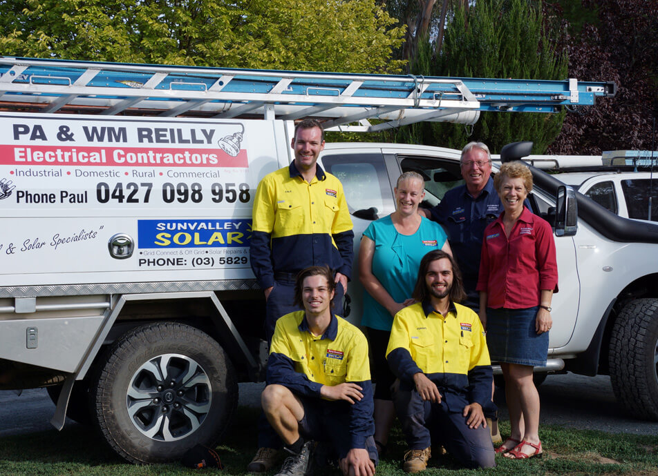 reilly electrical and sunvalley solar