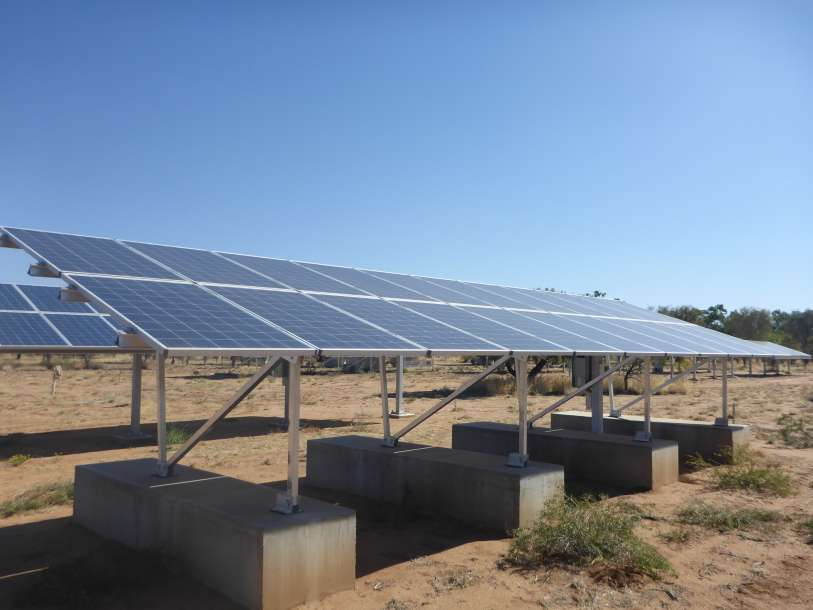 Installation Site 34. WINAICO 5.3 kW Install made with 22x 240W Polycrystalline Modules