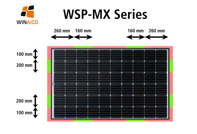 WSP-MX Clamping Zones