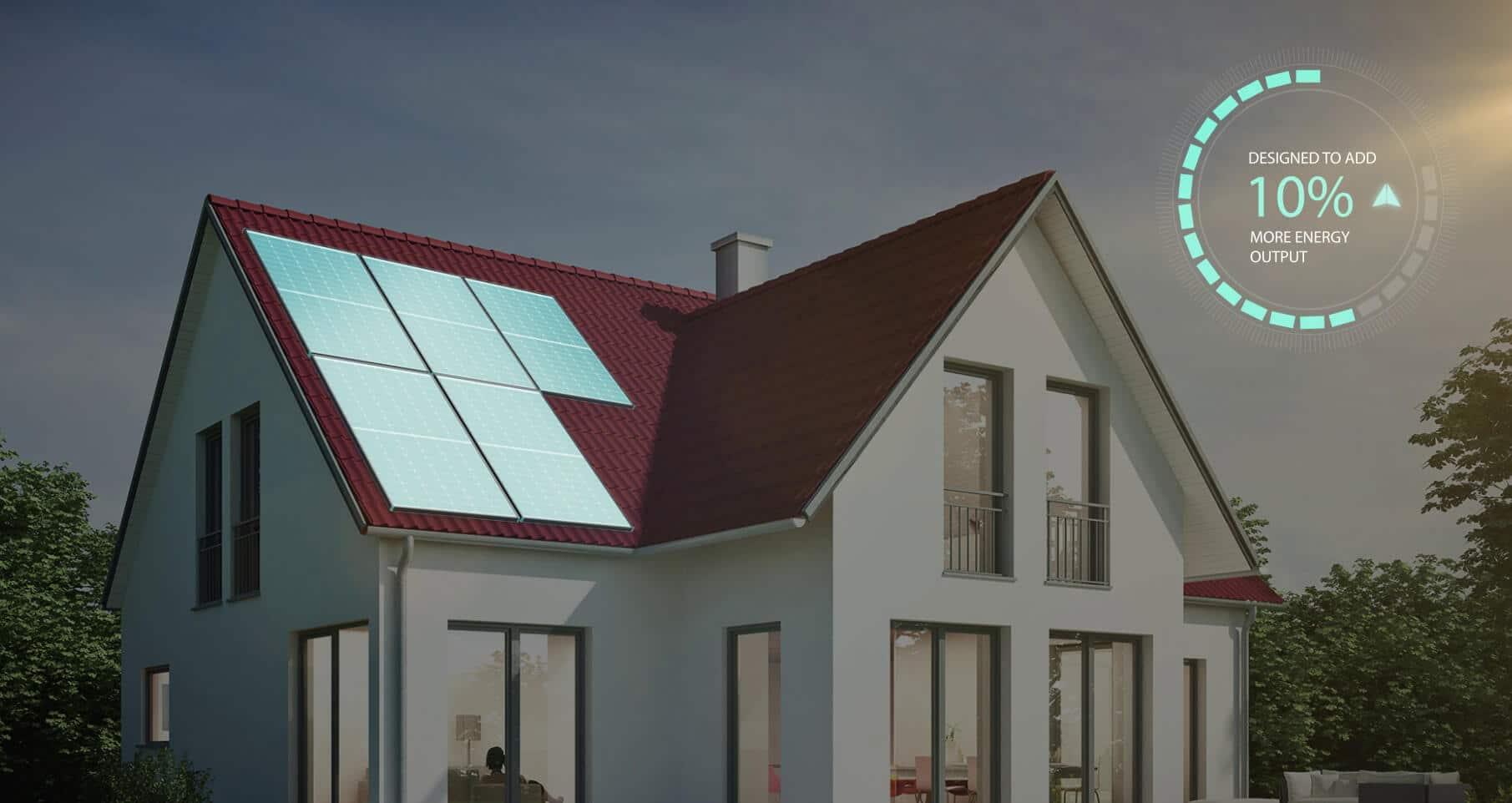mono solar panel high power density
