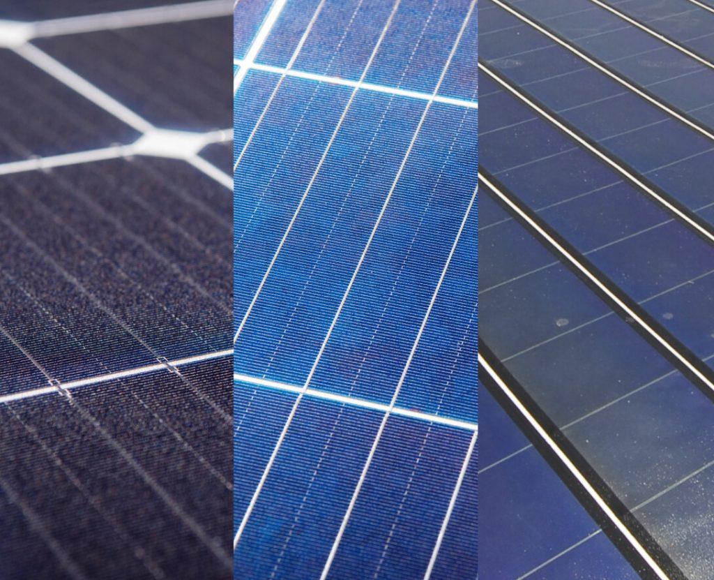 solar panel types mono poly thin film