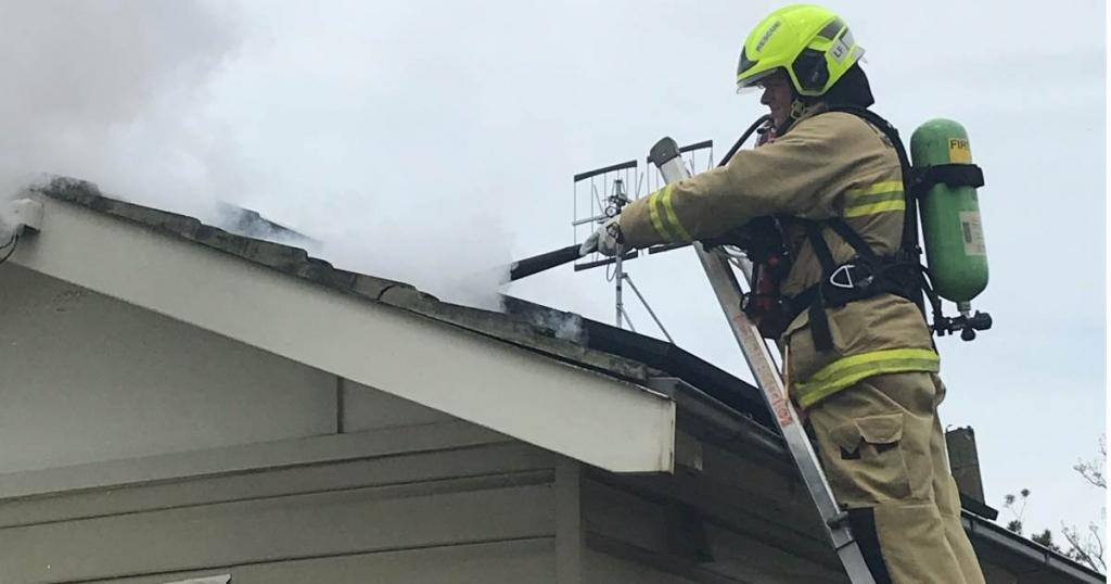 DC Isolator Fire, Image FRNSW