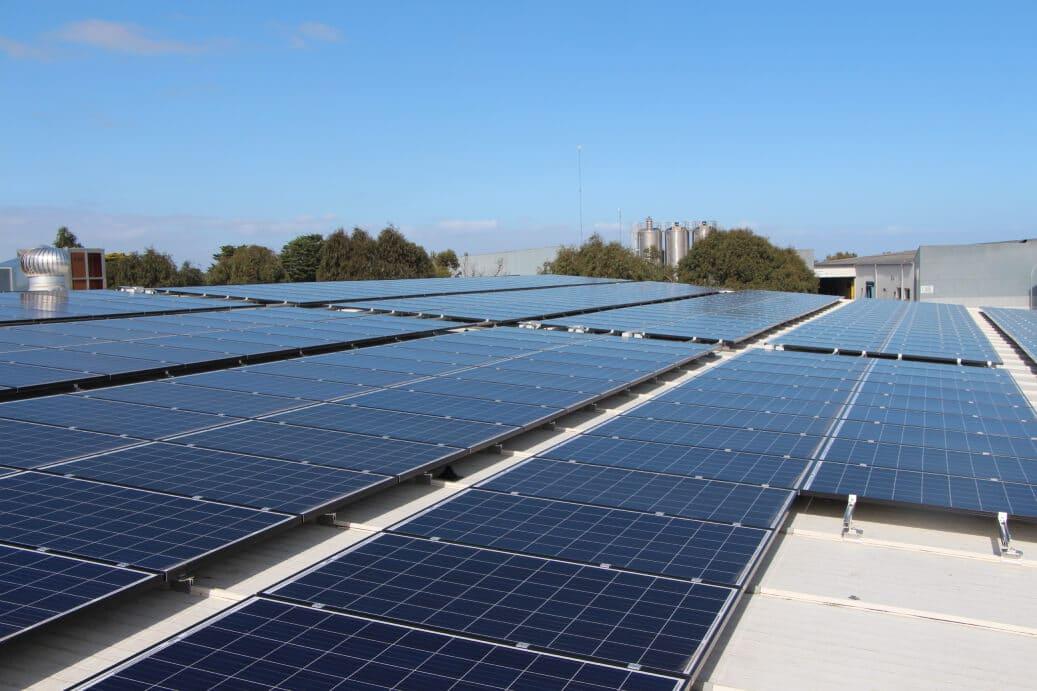 white roof solar
