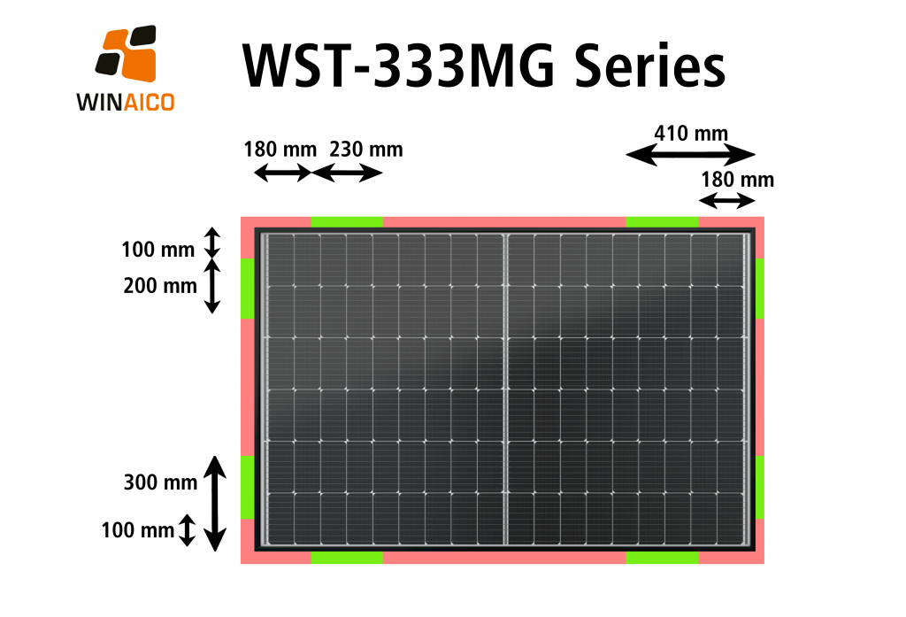 WST333-MG Clamping Zones