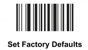 Set Factory Defaults