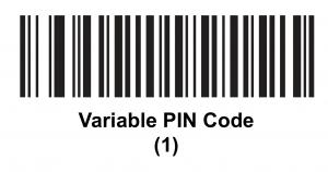 Variable Pin Code