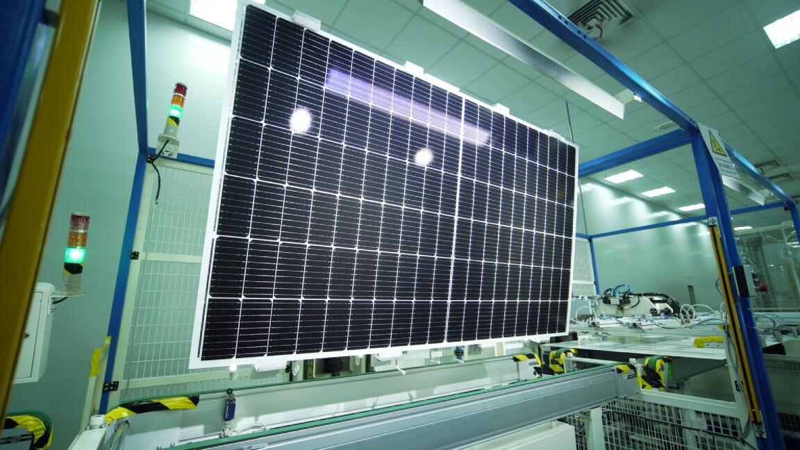 solar panel visual inspection